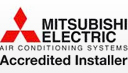 Mitsubishsi Accredited Air Conditioning Installer
